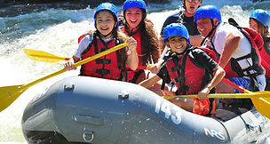 Photo of friends on an Ohiopyle Rafting Trip