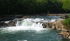 Youghiogheny Falls at Ohiopyle
