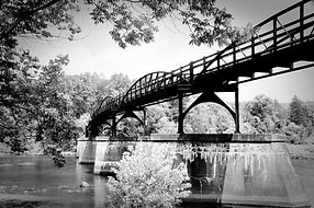Bridge over the Youghiogheny River, part of the Great Allegheny Passage