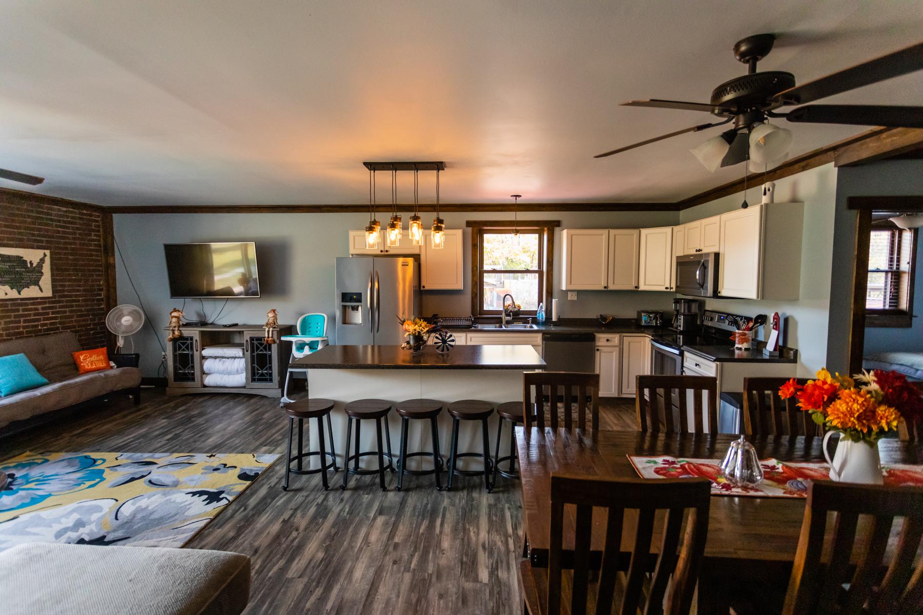 Master Suite open floor plan