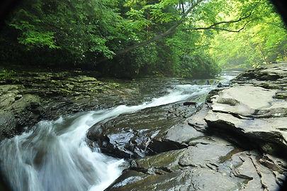 Meadow Run natural water slides