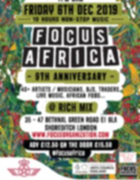Focus Africa 9th Anniversary Royal Air M