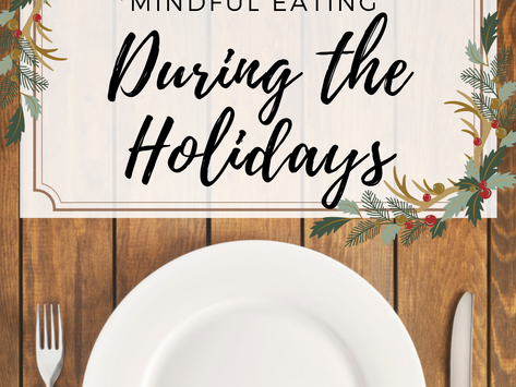 Eat Mindfully During the Holidays