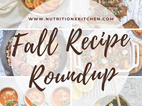 The Best Fall Recipes (Fall Recipe Roundup)