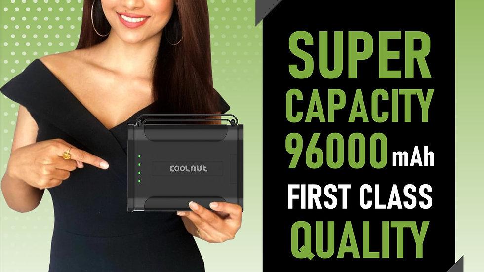 96000 MaH MultiFunctional Powerbank