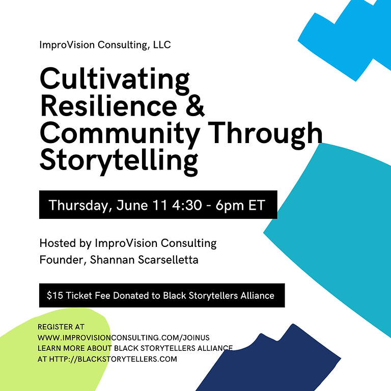 Cultivating Community and Resilience through Storytelling