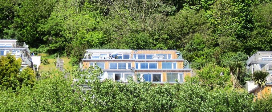 sea view hillside villa millendreath looe cornwall
