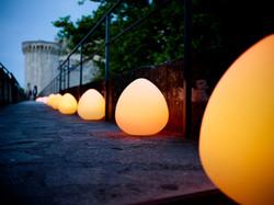 ROCK-ROCKY-LED-Leuchte-Deko-Garten-Pool LED Lampe Smart & Green bei VAN VUGHT Interiors in Berlin &