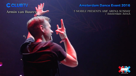 "Club TV ""Amsterdam Dance Event 2016"""