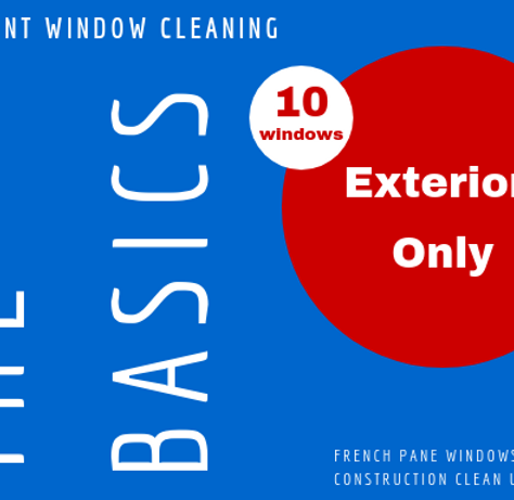 10 Windows Exterior Only