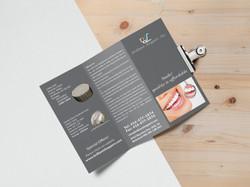 Tri Fold Brochure MockUp 4