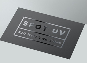 How to set up a file for Spot UV