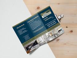 Tri Fold Brochure MockUp 3
