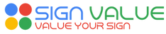 Sign Value Logo