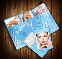 Tri Fold Brochure MockUp 7