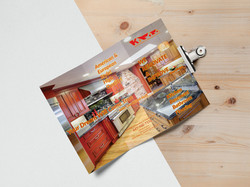Tri Fold Brochure MockUp 5