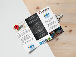 Tri Fold Brochure MockUp 8