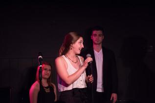 Amy at Mr. Finn's Cabaret