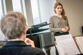 Singer in Schubert-Mayrhofer Lied Project