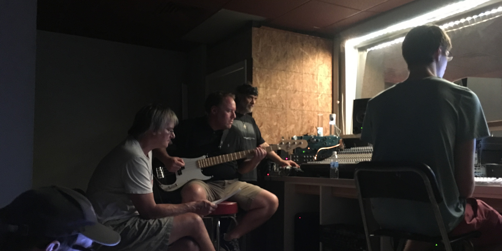 SBs in studio