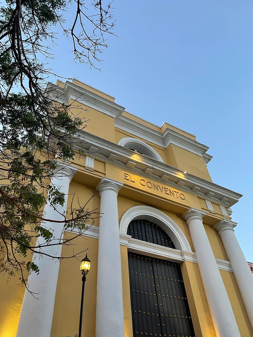 Hotel El Convento en el Viejo San Juan, Puerto Rico.