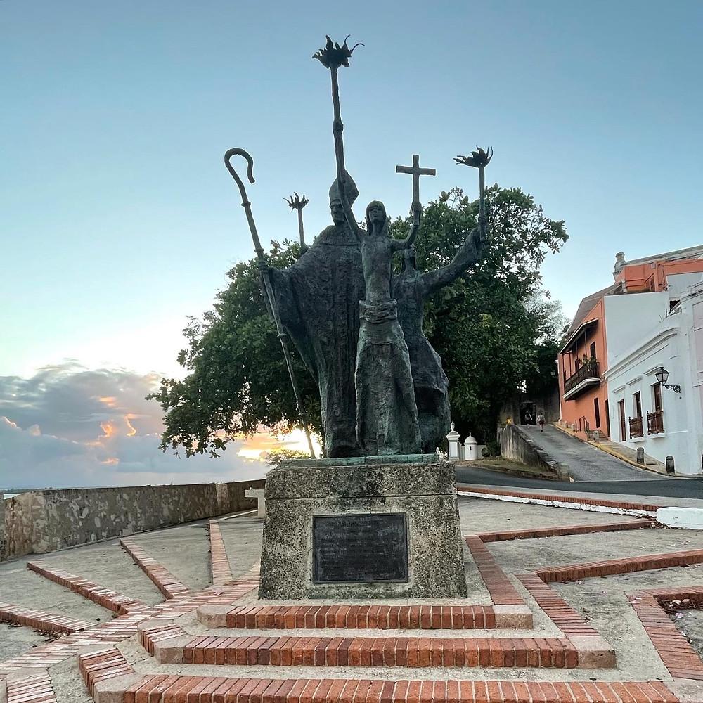 La Plazuela La Rogativa en el Viejo San Juan, Puerto Rico.