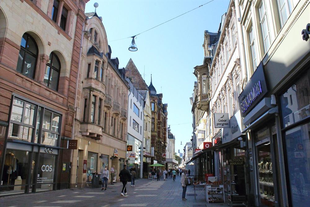 Casco Viejo de la ciudad de Weisbaden, Alemania.