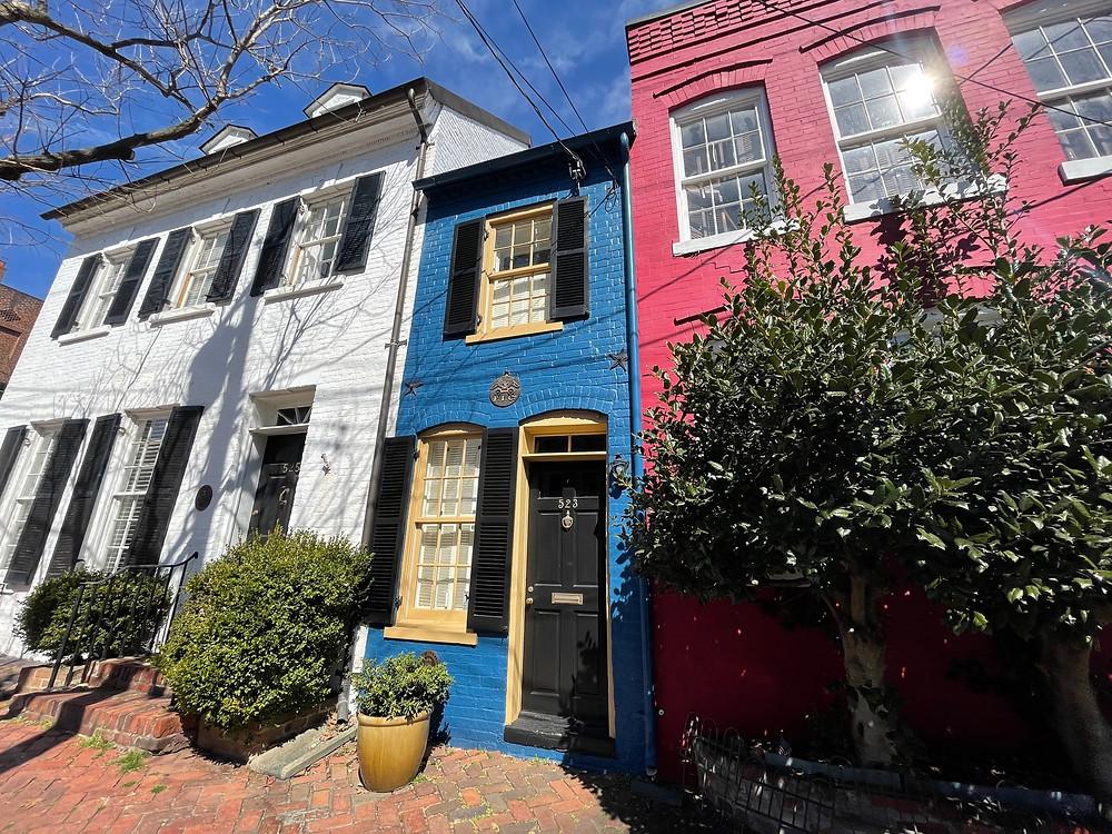 La casa más pequeña en el Centro Histórico de Alexandria