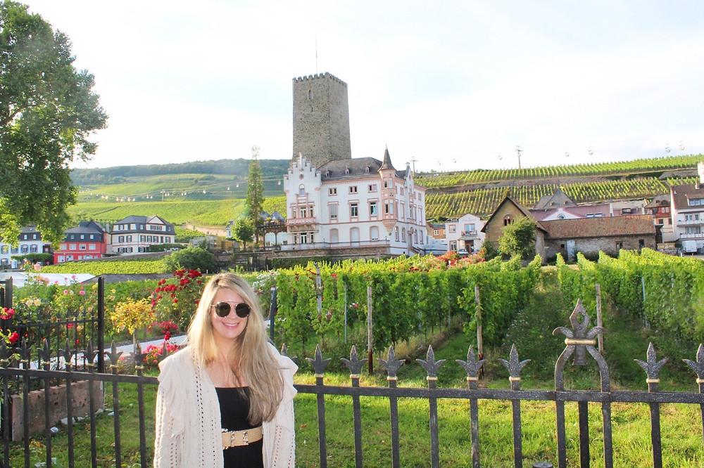 Explorando Rüdesheim y sus viñedos.