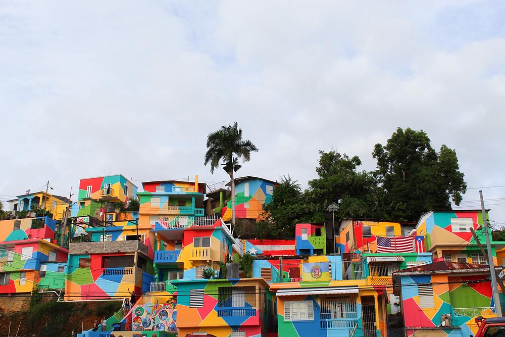 Mural Amancer Borincano en Aguadilla, Puerto Rico.