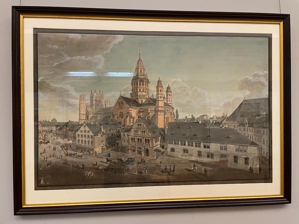 Landesmuseum en la ciudad de Maguncia, Alemania.