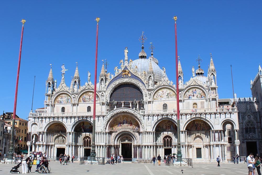 Conociendo a la Basílica San Marco en Venecia, Italia.
