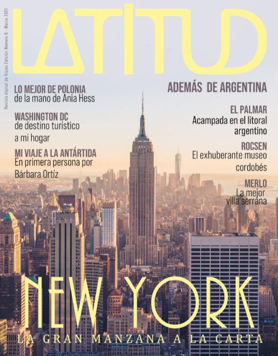 Revista de viajes, Latitud en Argentina