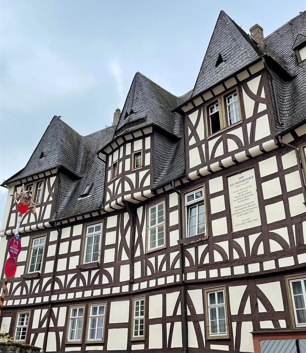 El pueblito de Rüdesheim en Alemania.