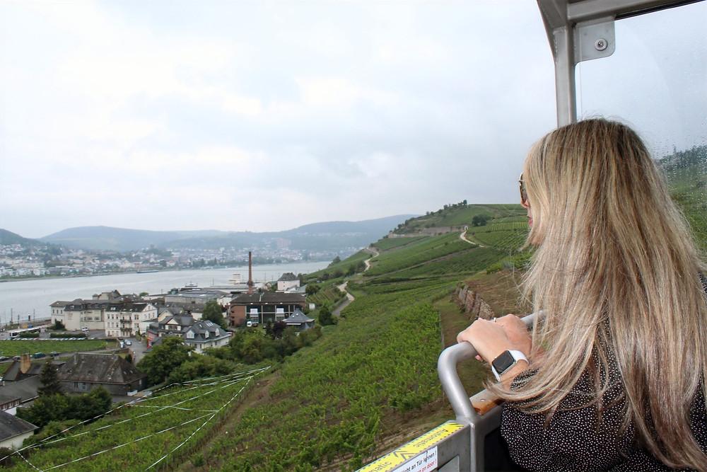 Teleférico de Rüdesheim y su grandiosa vista.