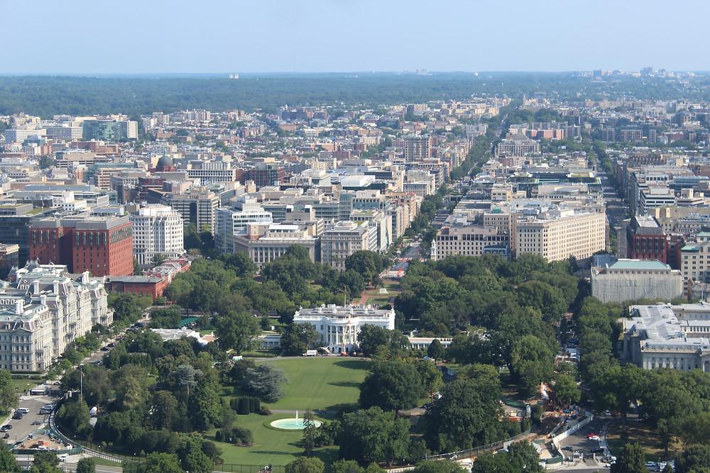 La Casa Blanca, residencia actual del presidente de los Estados Unidos.