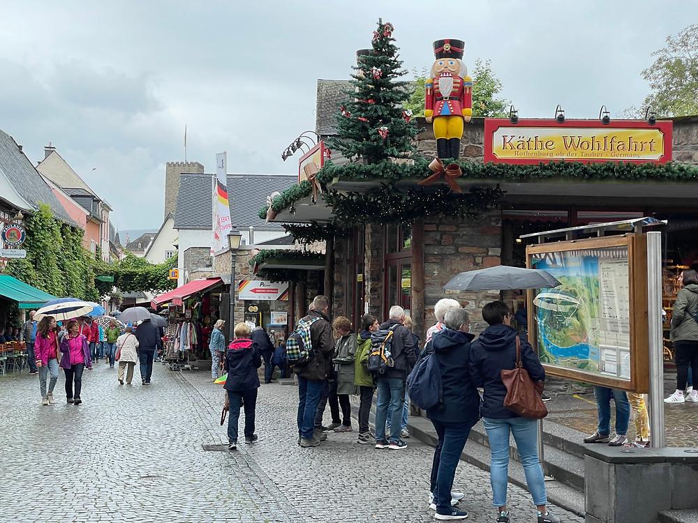 Käthe Wohlfahrt, la tienda navideña más antigua de Rüdesheim.