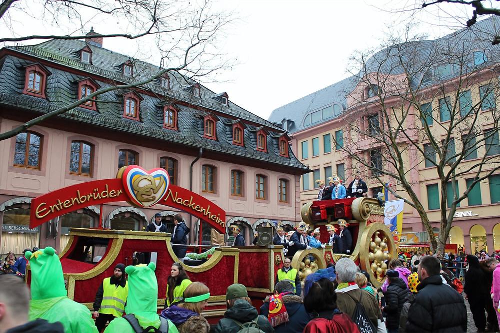 Festival El Lunes de Carnaval en Maguncia.