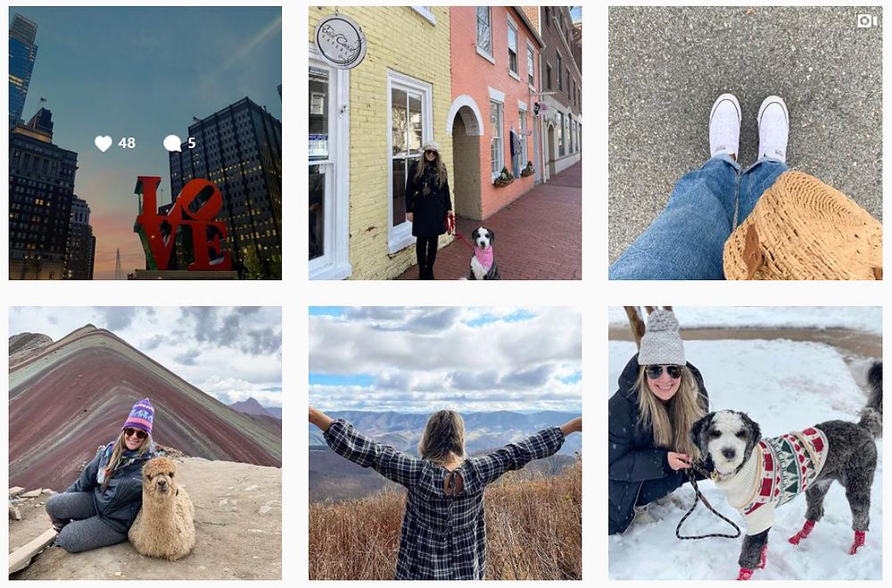 Blog de viajes, Lana's Pocket en Instagram