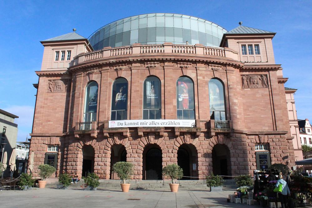 Teatro Romano, antiguo Mogontiacum, en Mainz.
