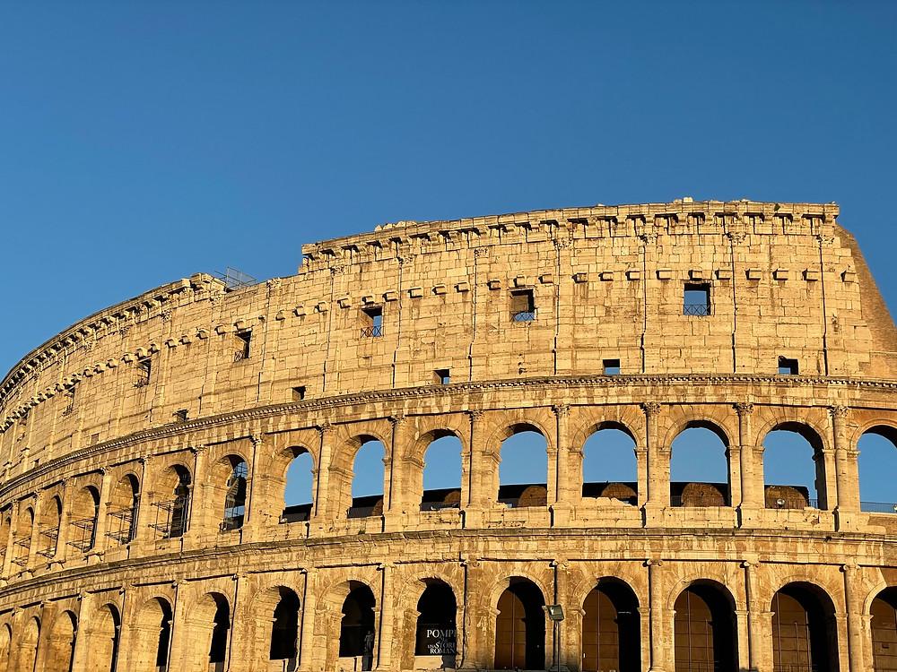 El Coliseo Romano en Italia.