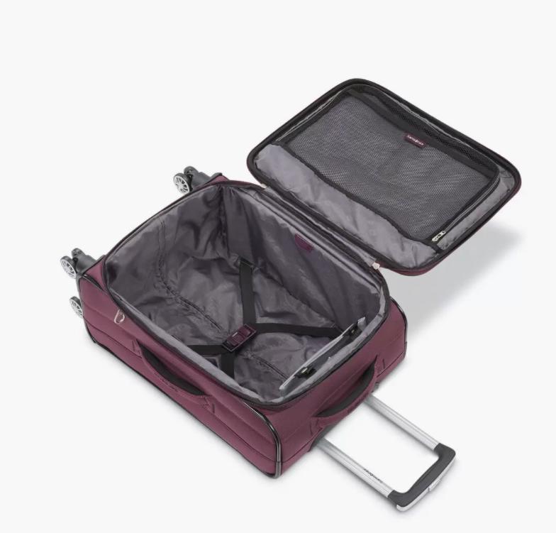 Samsonite carry-on perfecta para viajes.