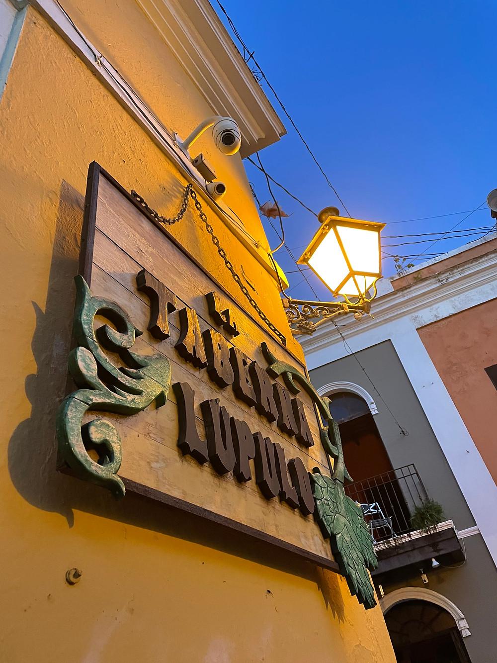 La Calle San Sebastián en Puerto Rico.