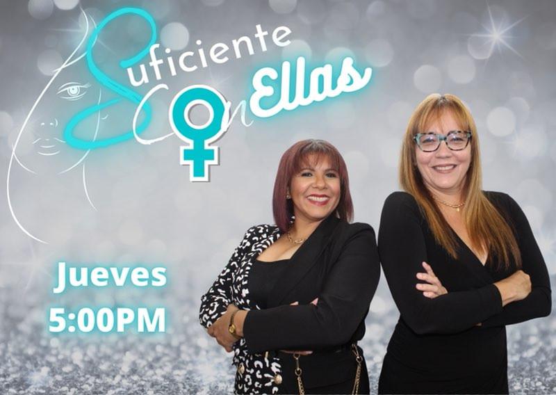 Programa Suficiente con Ellas de la radioemisora Krystal Radio FM Puerto Rico