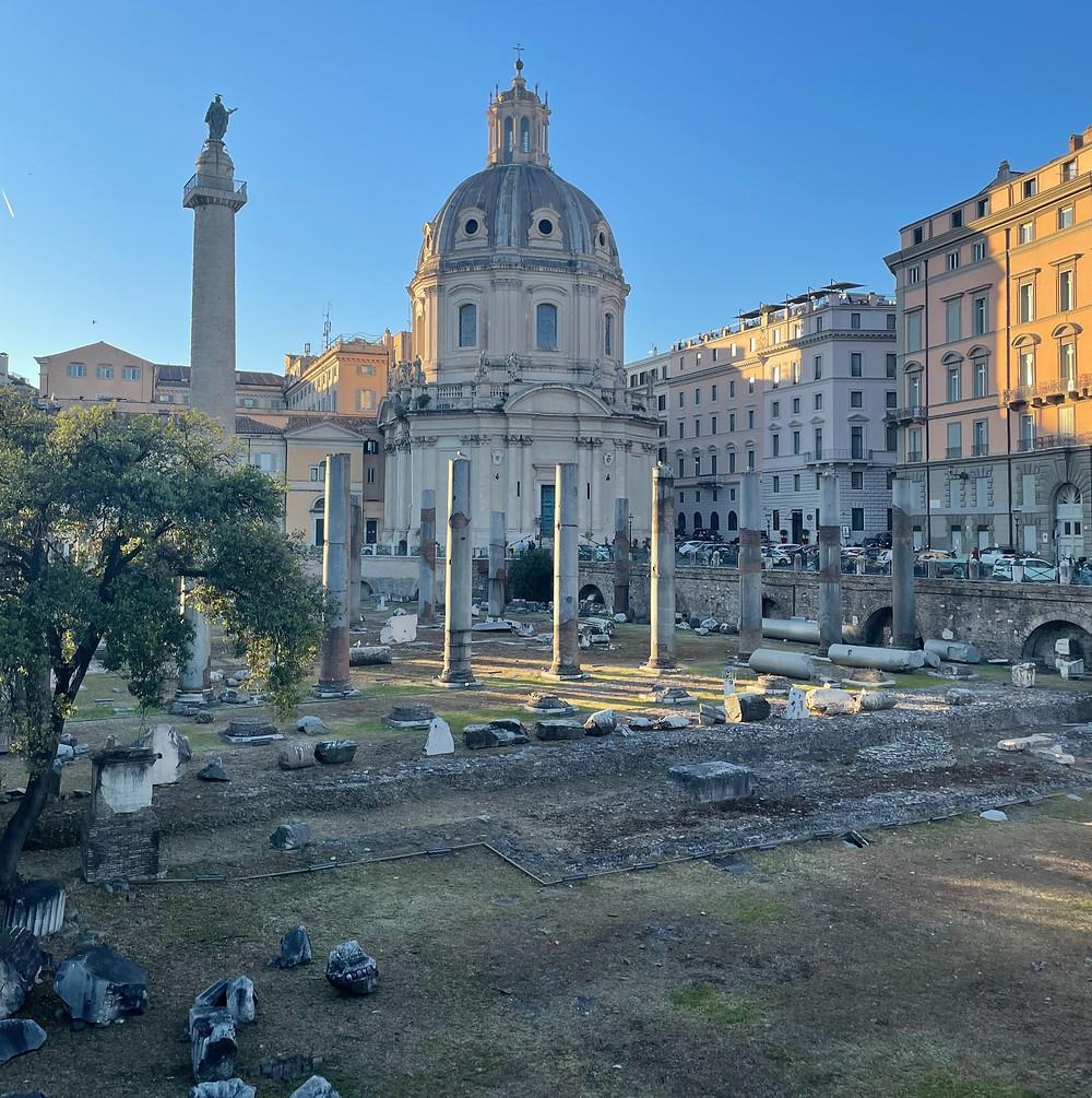 Antigua Roma en Italia, la ciudad romana más impresionante en el mundo..