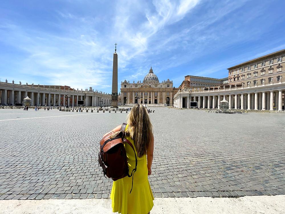 Ciudad del Vaticano en Roma, Italia.