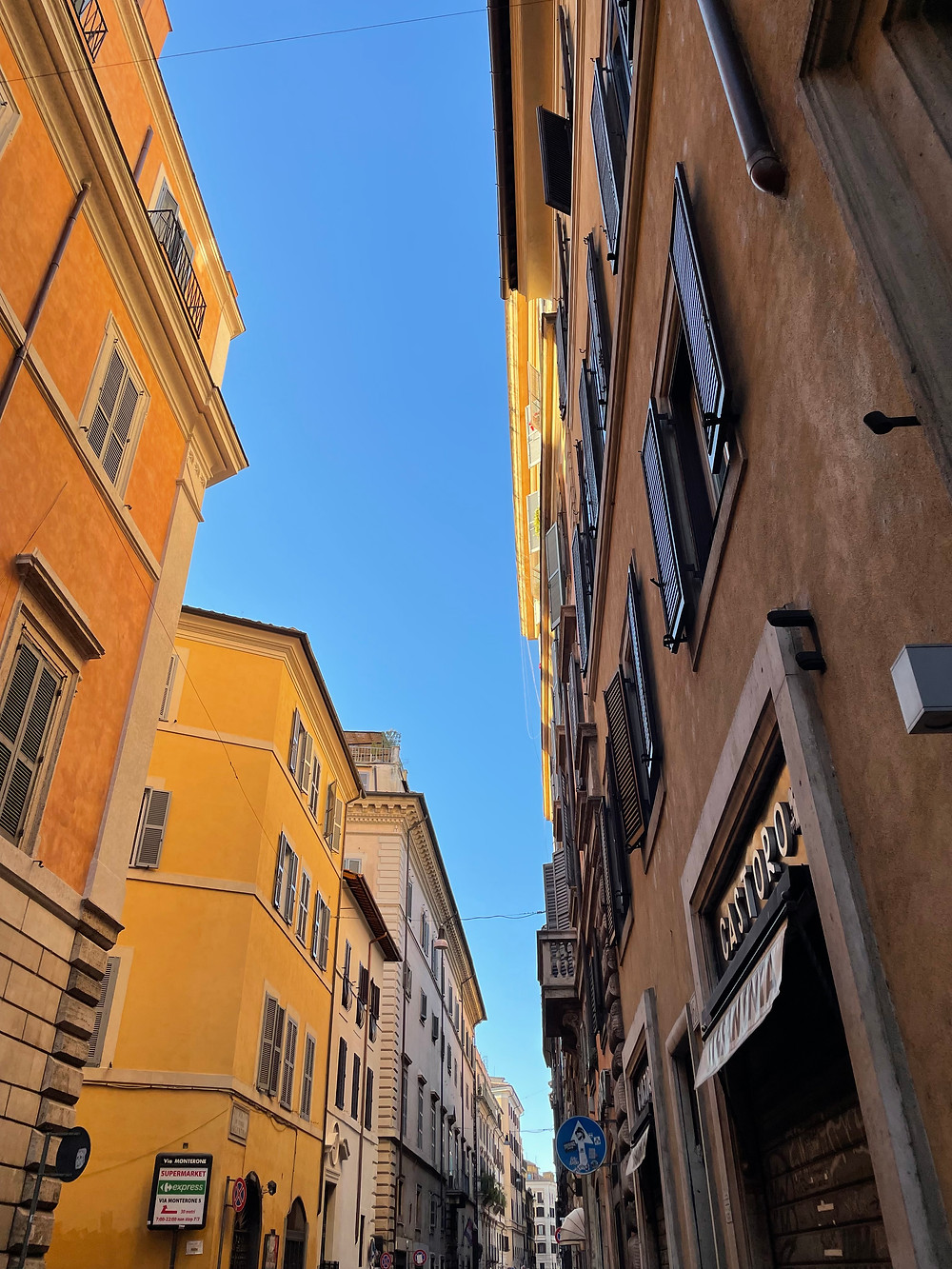 La ciudad de Roma en Italia.