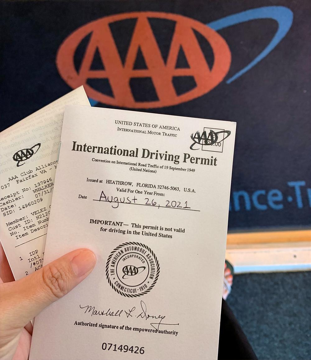 Cómo sacar la licencia de conducir internacional