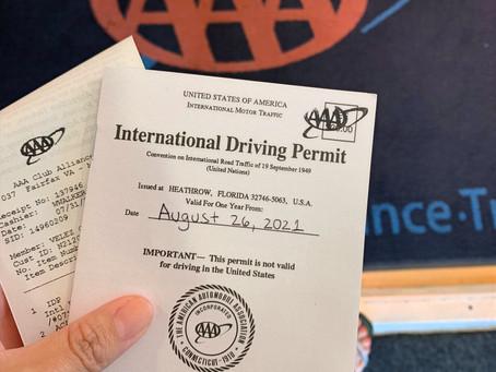 Cómo obtener la licencia de conducir internacional