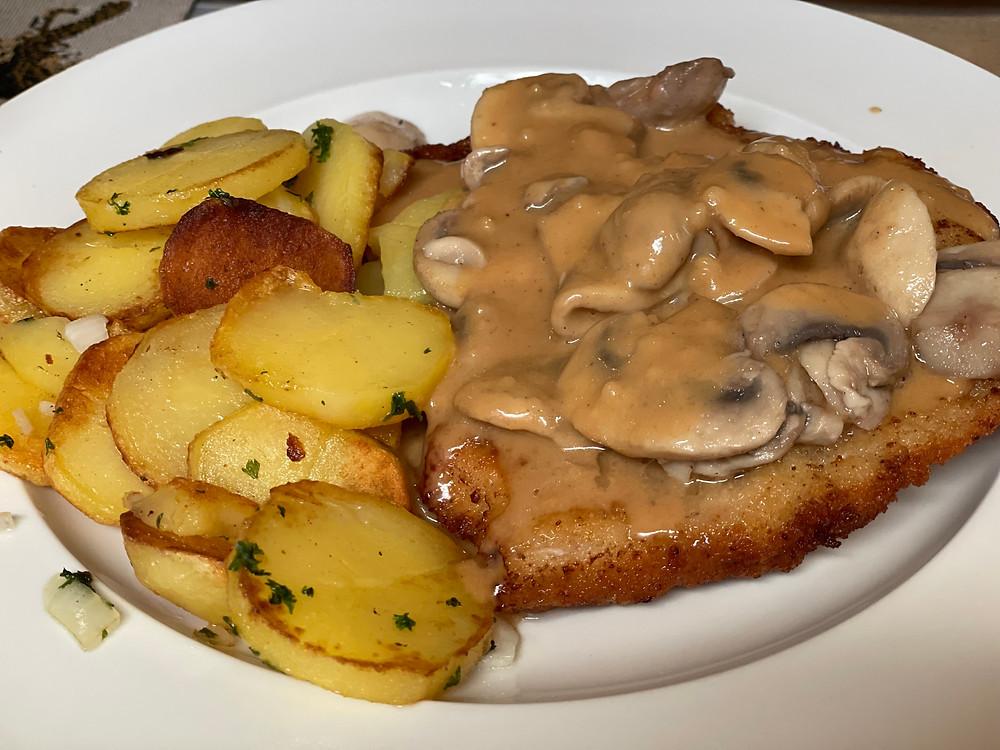 Schnitzel, plato muy popular en Alemania.